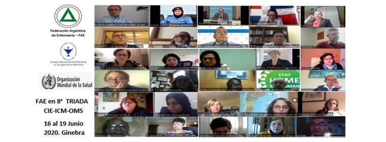 Federación Argentina de Enfermería: Acciones en la pandemia